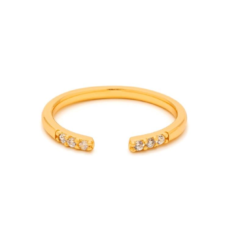 Gorjana Aida Cuff Midi Ring