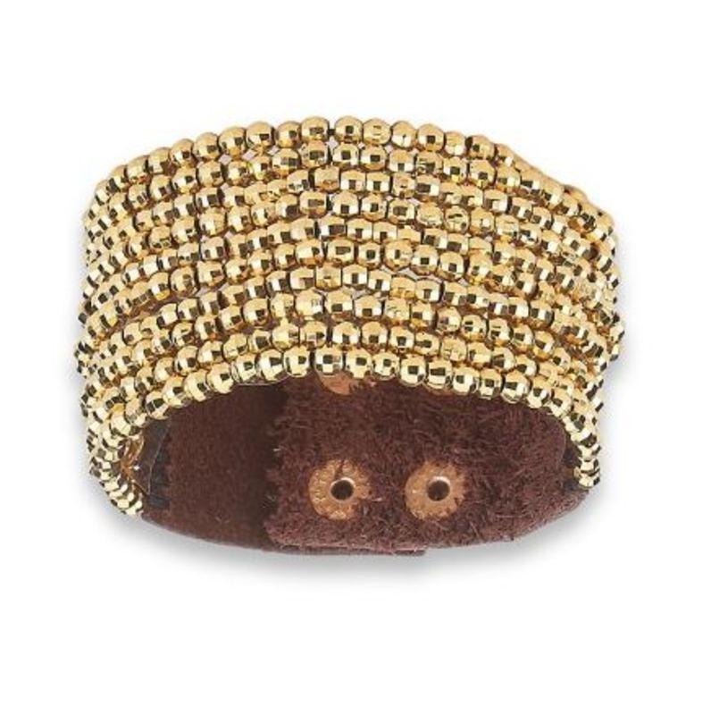 Elise M Pandora Bracelet in Gold