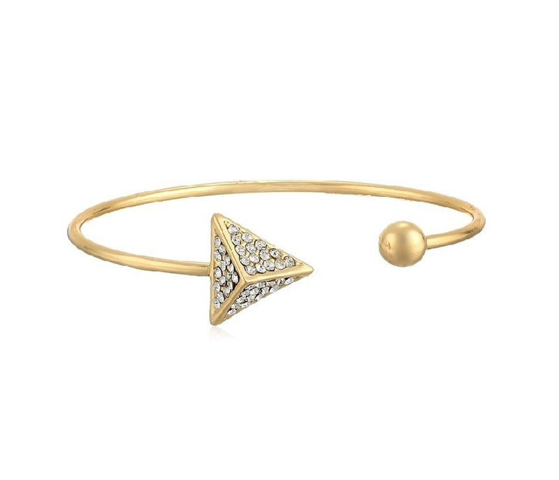 Jules Smith Cage Arrow Bracelet in Gold