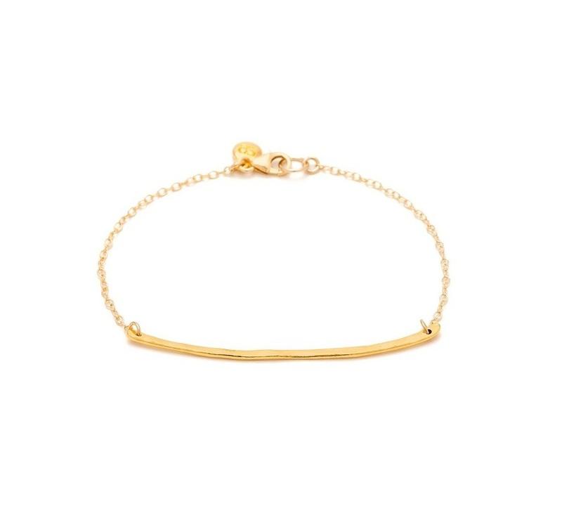 Gorjana Taner Charm Bracelet in Gold
