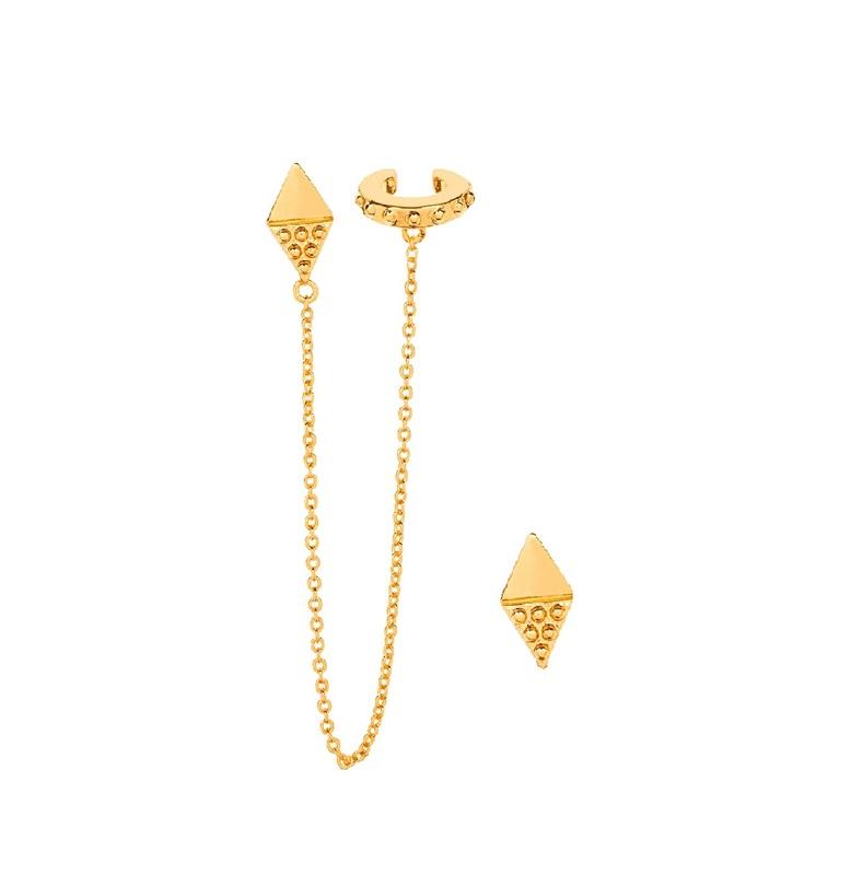 Gorjana Bali Diamond Ear Cuff Set