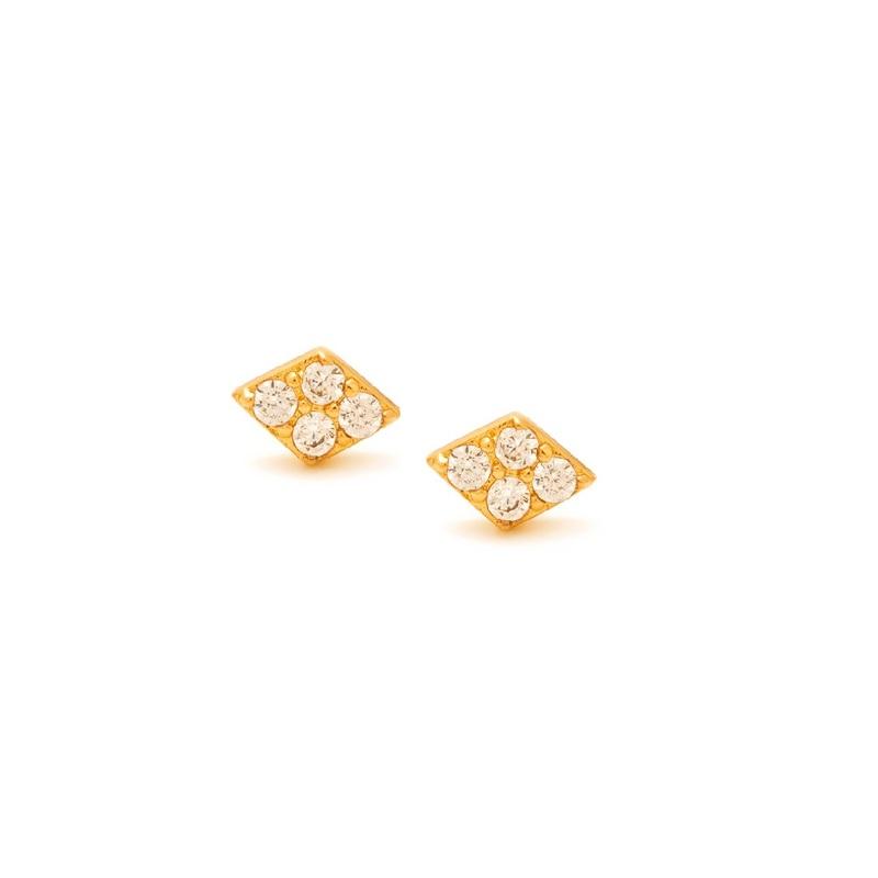 Gorjana Petra Shimmer Diamond Studs