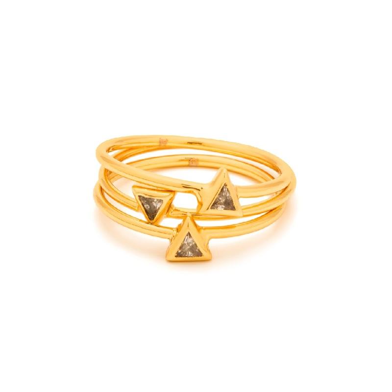 Gorjana Vivienne Ring Set