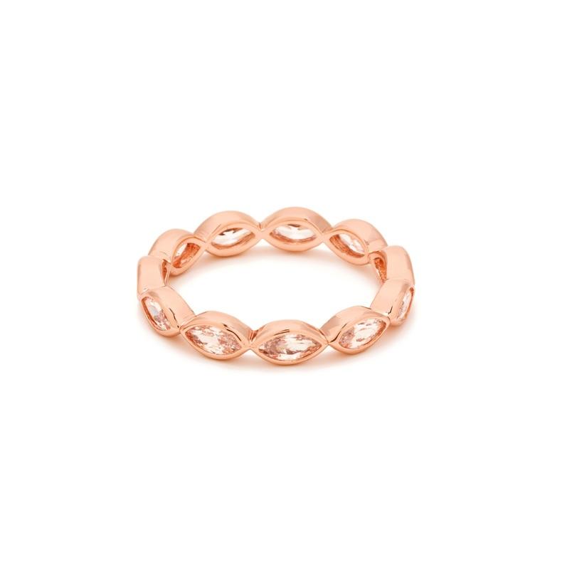 Gorjana Blakely Ring in Rose Gold