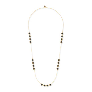 House of Harlow 1960 Cuzco Station Necklace in Malachite