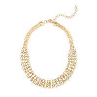Anuja Tolia Crystal Bib Necklace