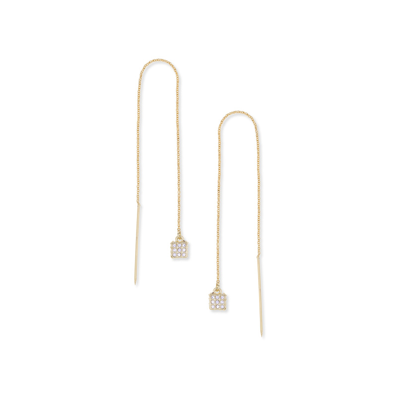 CC Skye The Block Party Threader Earrings
