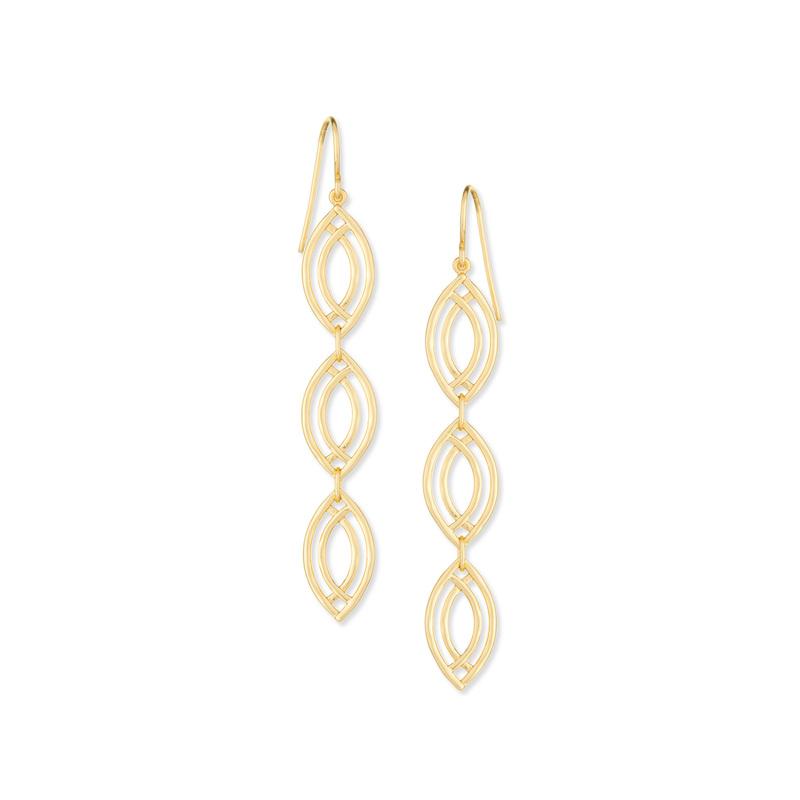 Gorjana Mesa Wave Drop Earrings