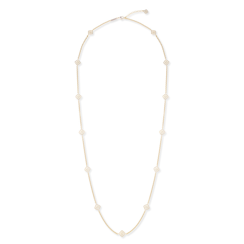 Kendra Scott Devalyn Necklace in Gold