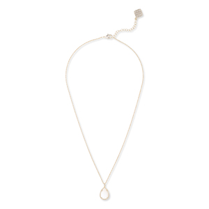 Kendra Scott Kiri Necklace in Ivory Pearl