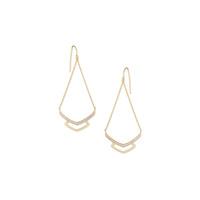 Gorjana Cress Shimmer Drop Earrings