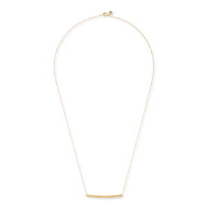 Gorjana Amanda Bar Long Necklace