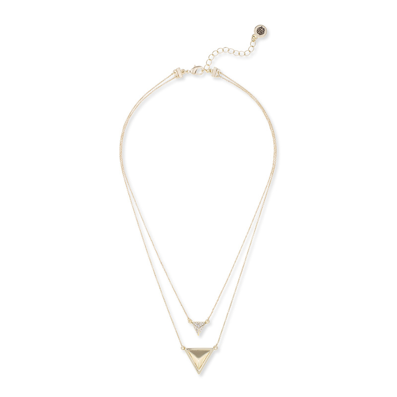 House of Harlow 1960 Temple Pendant Necklace in Gold