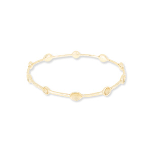 Melinda Maria Laura Baby Bangle in Gold