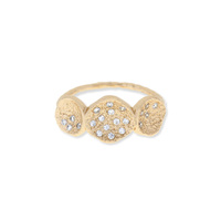 Melinda Maria Jennifer Ring in Gold