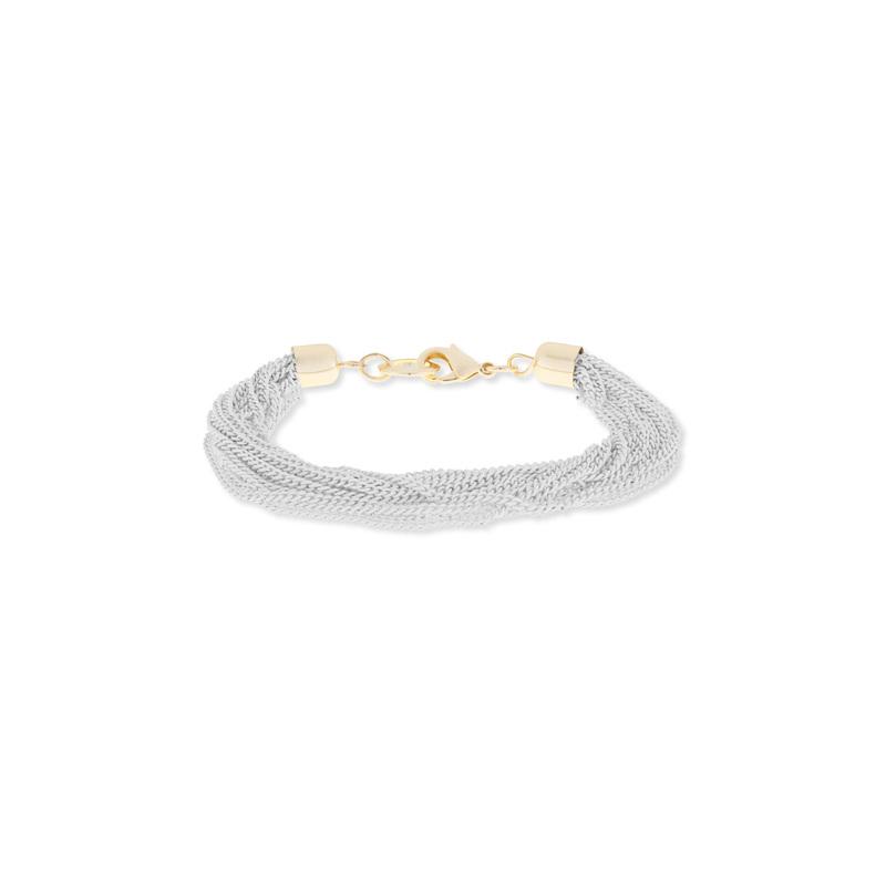 SLATE White Chain Bracelet