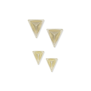 House of Harlow 1960  Meteora Earring Set in Gold