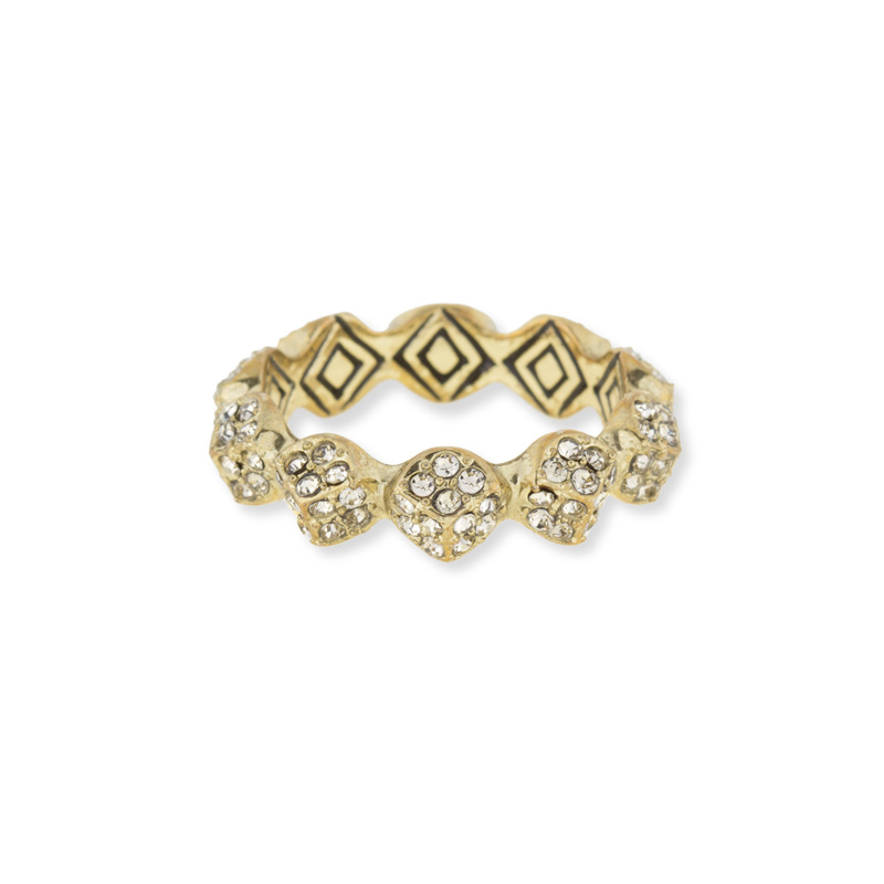 House of Harlow 1960 Sama Stacking Ring in Gold