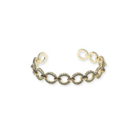 House of Harlow 1960 Eternal Link Cuff in Gold