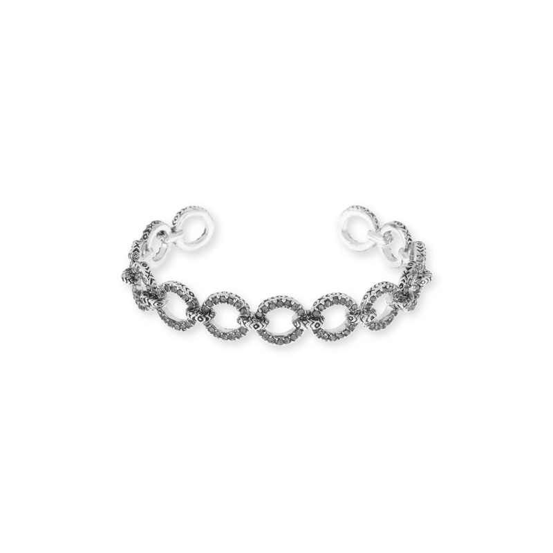 House of Harlow 1960 Eternal Link Cuff in Silver