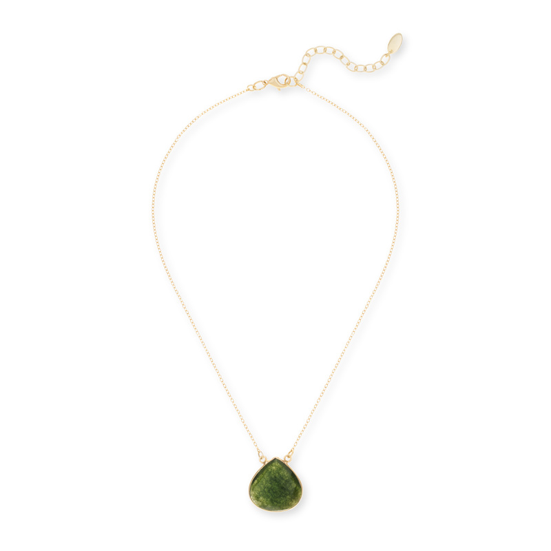 Ashiana London Green Pendant Necklace