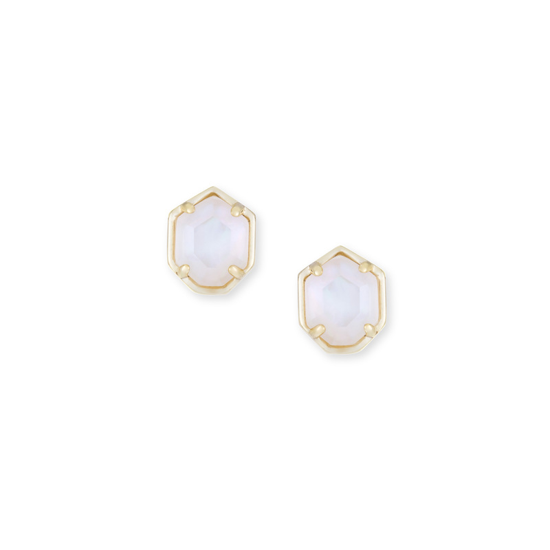 Kendra Scott Logan Earring in Ivory Mother of Pearl