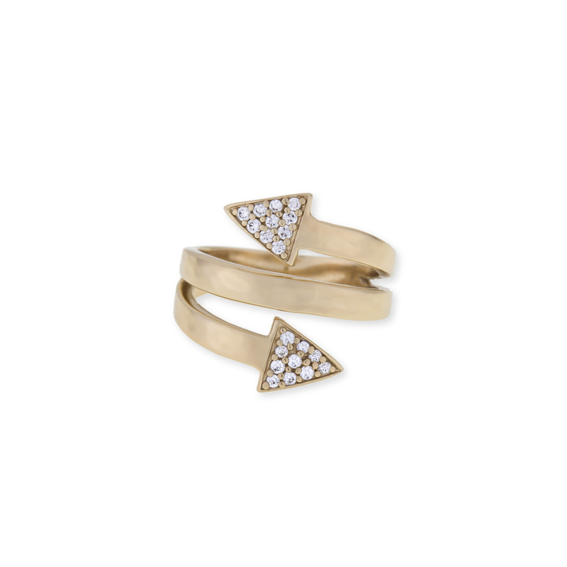 Melinda Maria Phoenix Pave Wrap Ring