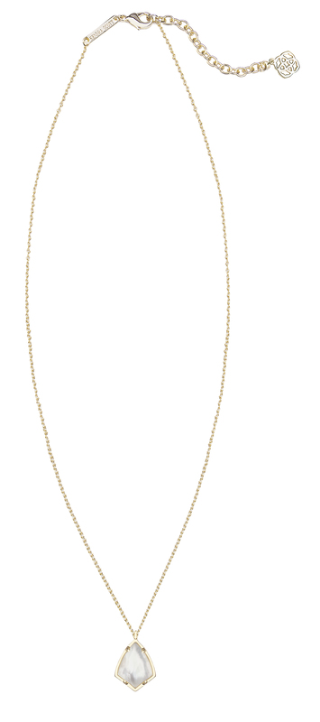 Kendra Scott Cory Necklace in Ivory Mother of Pearl