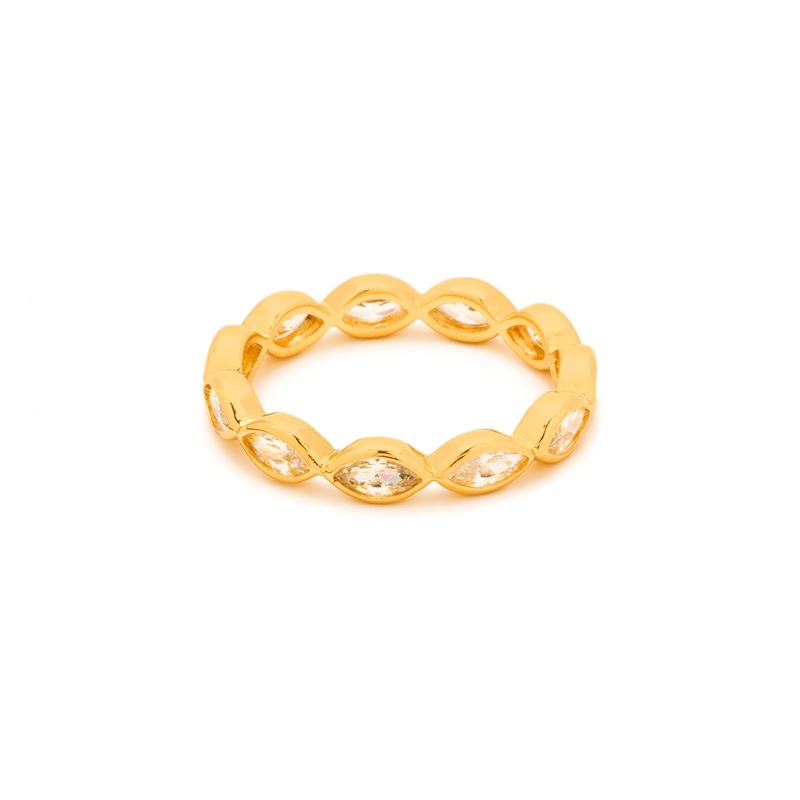 Gorjana Blakely Ring in Gold