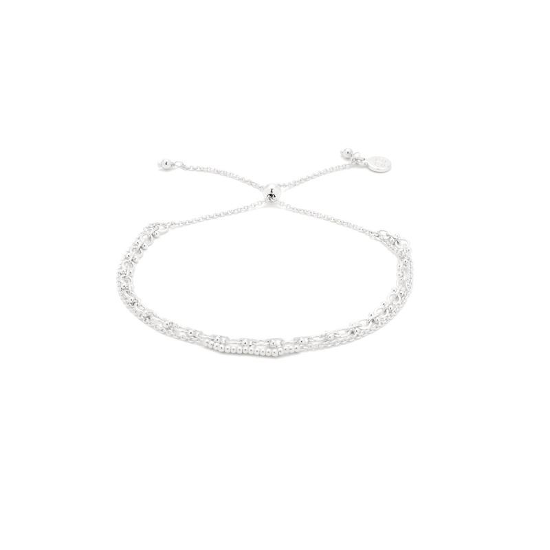 Gorjana Mackenzie Chain Link Bracelet in Silver