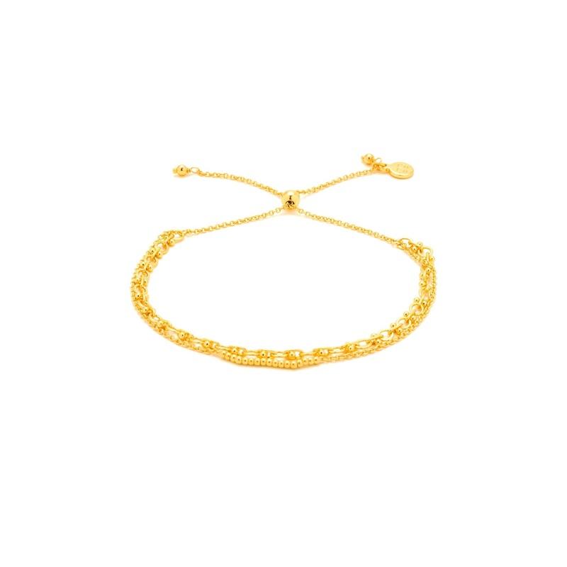 Gorjana Mackenzie Chain Link Bracelet in Gold