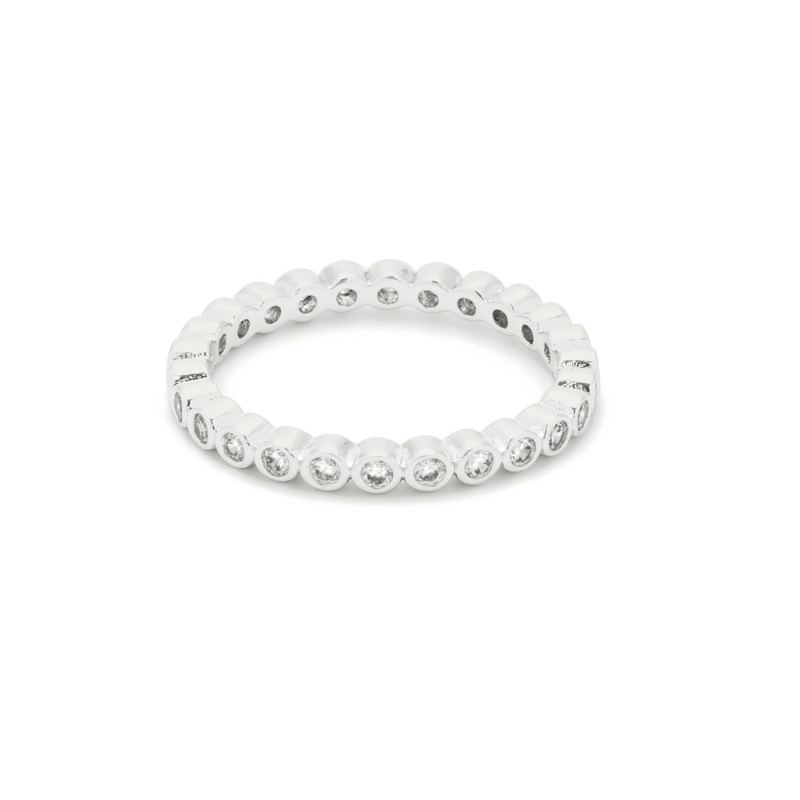 Gorjana Candice Shimmer Ring in Silver