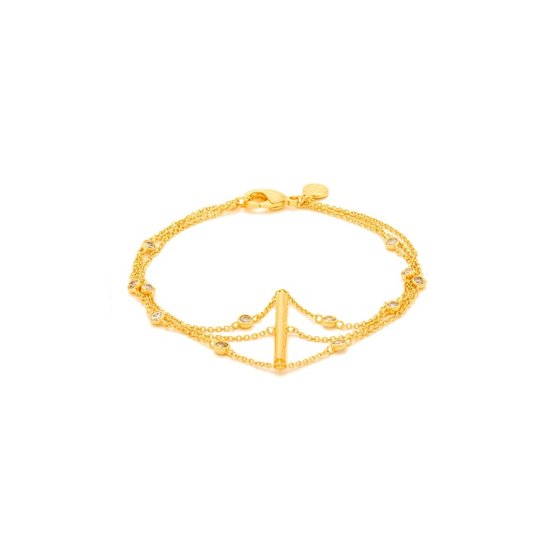 Gorjana Candice Shimmer Bracelet