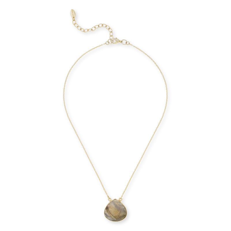 Ashiana London Labradorite Pendant Necklace