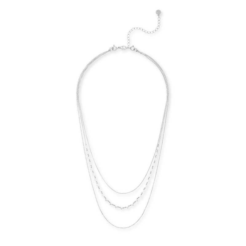 Gorjana DIY Necklace with V Chain in Silver