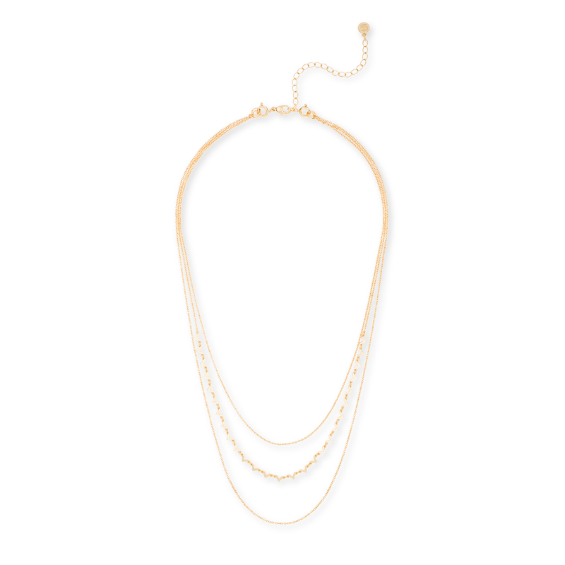 Gorjana DIY Necklace with V Chain in Gold