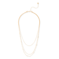 Gorjana DIY Necklace with Arrow Chain in Gold