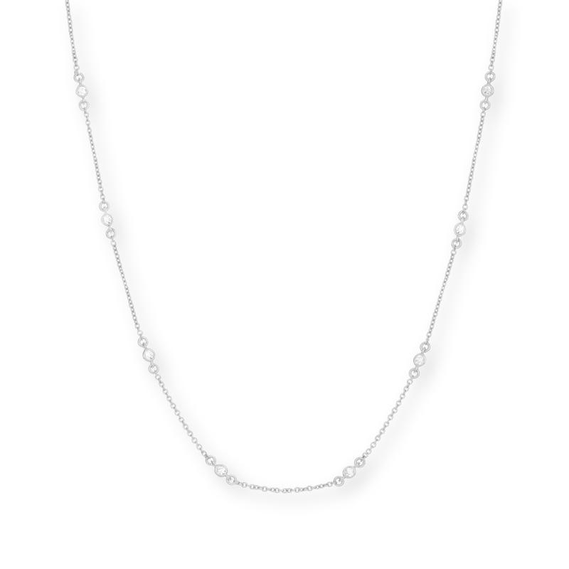 Gorjana DIY CZ Chain in Silver
