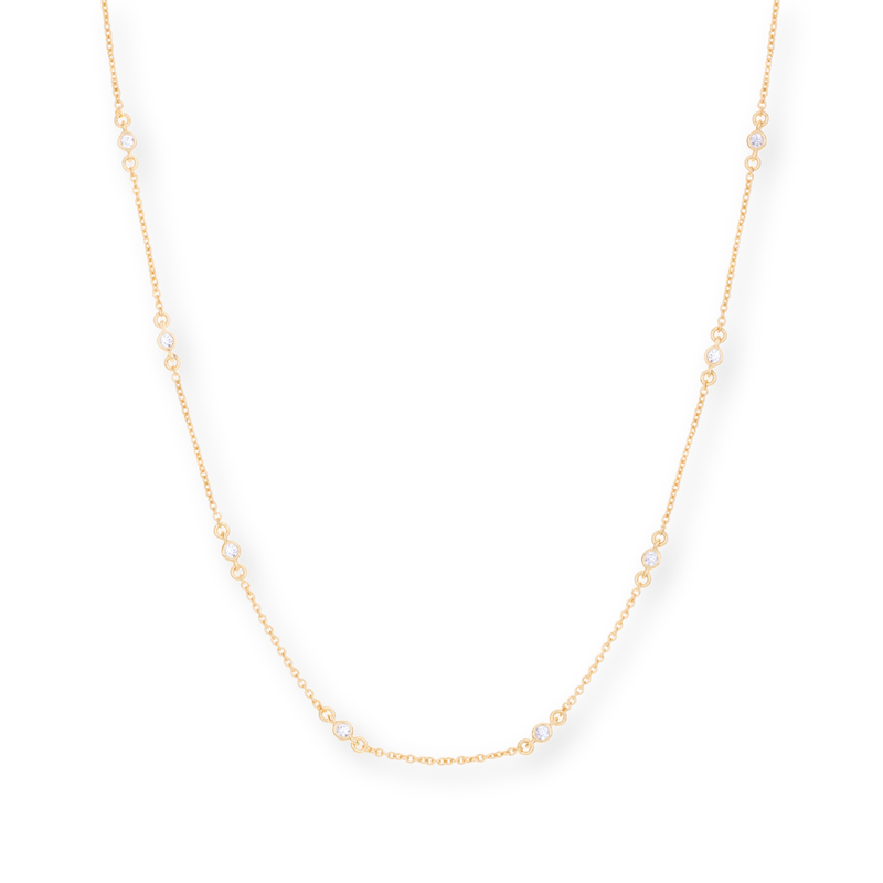 Gorjana DIY CZ Chain in Gold