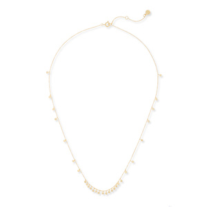 Gorjana Chloe Mini Long Necklace in Gold
