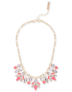 Perry Street Jenna Necklace in Pink