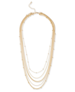 Sophie Harper Multi Layered Ball Chain