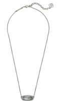 Kendra Scott Annika Necklace in Black Pearl