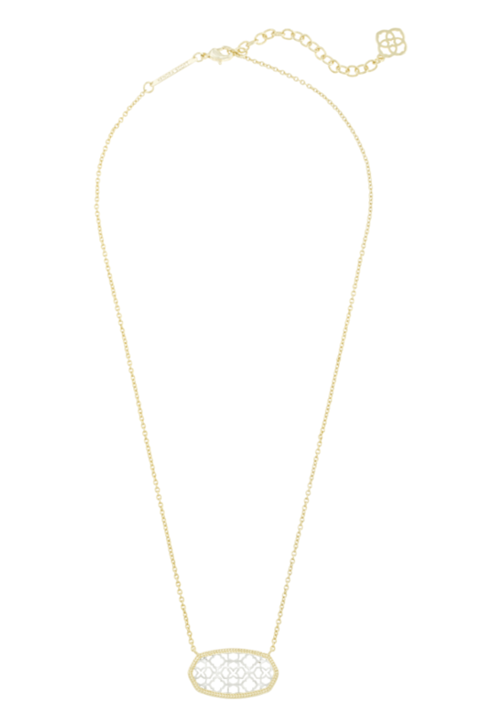 Kendra Scott Dollie Necklace in Gold and Silver