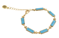 House of Harlow 1960 Clear Creek Bracelet in Turquoise