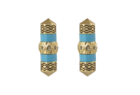 House of Harlow 1960 Prana Stud Earrings in Turquoise