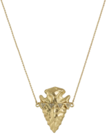 House of Harlow 1960 Mojave Arrowhead Pendant Necklace in Gold