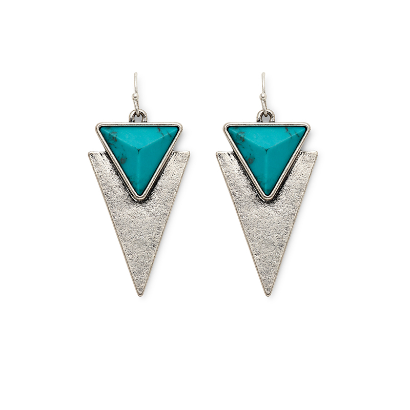 Jenny Bird Flagstaff Earrings in Silver