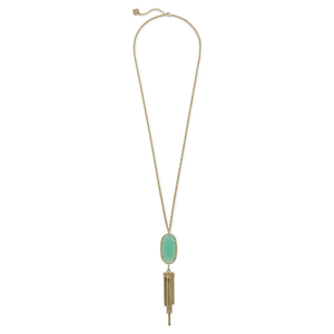 Kendra Scott Rayne Necklace in Chalcedony