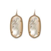 Kendra Scott Danielle Earrings in Ivory Pearl